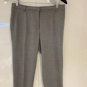 Calvin Klein White Label Grey Cropped dress pant